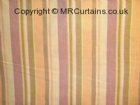 Cotton Stripe curtain fabric