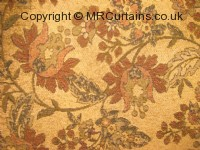 Jewellery curtain fabric