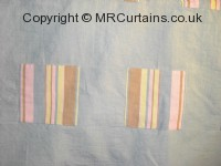 Wicked Patch curtain fabric