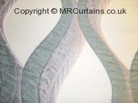 Bari curtain fabric