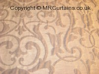 Ash curtain fabric material
