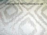 Azure curtain fabric material