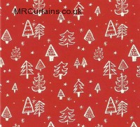 Christmas Tree curtain fabric