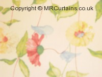 Daisy Chain  curtain fabric