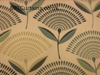 Dandelion curtain fabric
