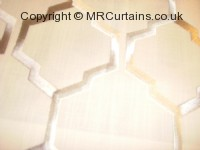 Helix curtain fabric