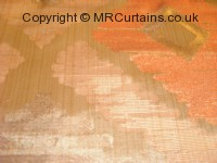 Meknes curtain fabric