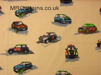 Mini Mode (Mini Cooper Fabric) curtain fabric