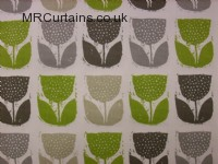Poppypod curtain fabric