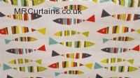 Sardines curtain fabric