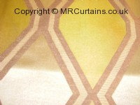 Tetra curtain fabric