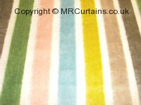 Trapeze curtain fabric