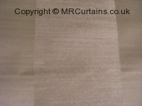 Oyster curtain fabric material