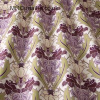 Acanthus curtain fabric