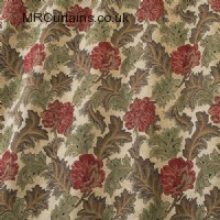 Red Earth curtain fabric material