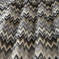 Mineral curtain fabric material