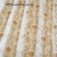 Topaz curtain fabric material