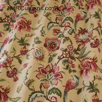 Linden curtain fabric