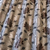 Bourbon curtain fabric material