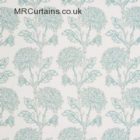 Capri curtain fabric material