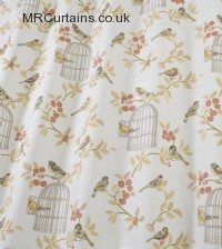 Songbird curtain fabric