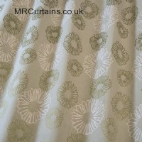 Aloe curtain fabric material