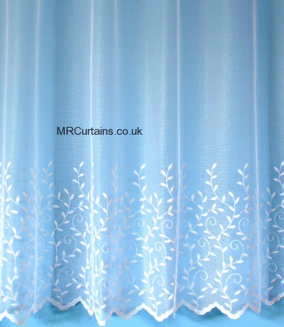 White curtain